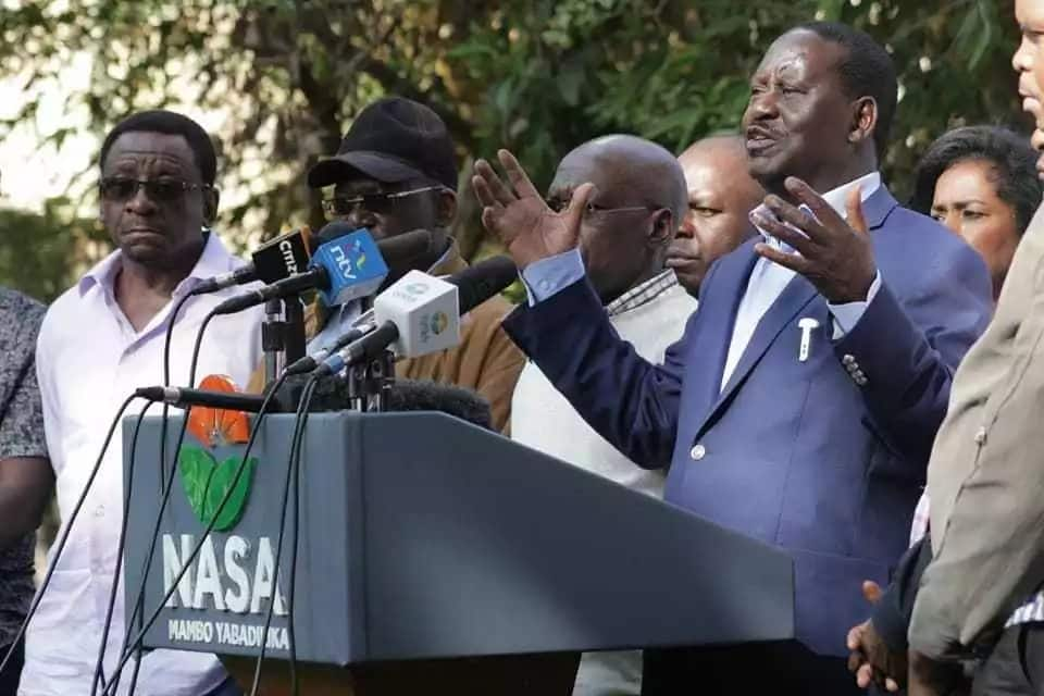 There will be nothing historic should NASA opt to swear in Raila Odinga - State House