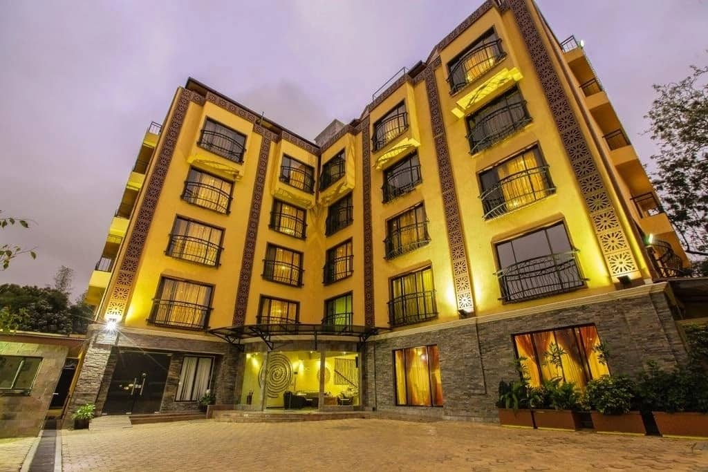 hotels in upperhill Nairobi