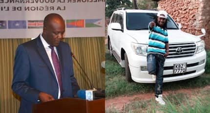 Ex-Kilifi MP Gideon Mung'aro buys Prado for musician who campaigned for him