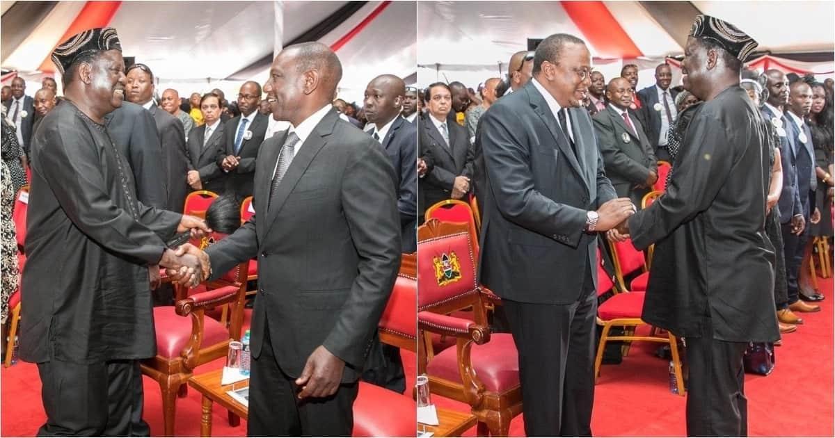 Uhuru, Ruto wahofishwa na mahubiri ya mchungaji wakati wa mazishi ya Kamaru