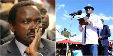 Forget it, Kalonzo will not take oath like Raila - Wiper leaders