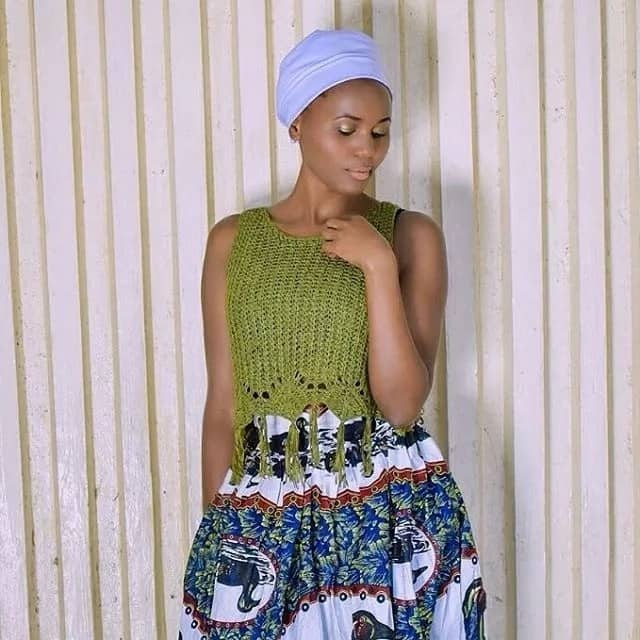 16 super attractive photos of Kenya's hottest mokorino fashionista and make up artist