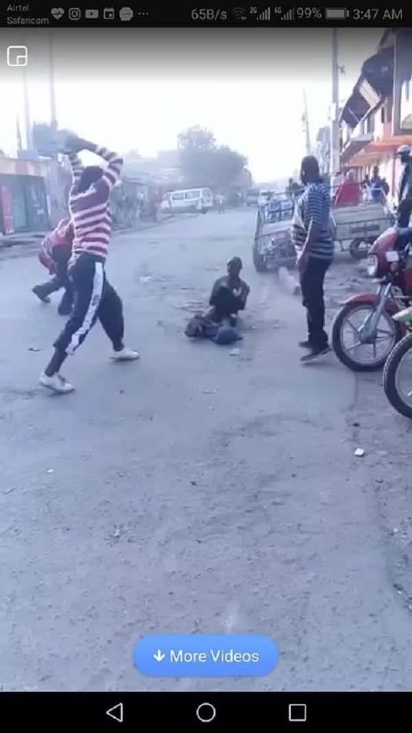 Mother of a notorius thug narrates the horror of watching her son getting killed