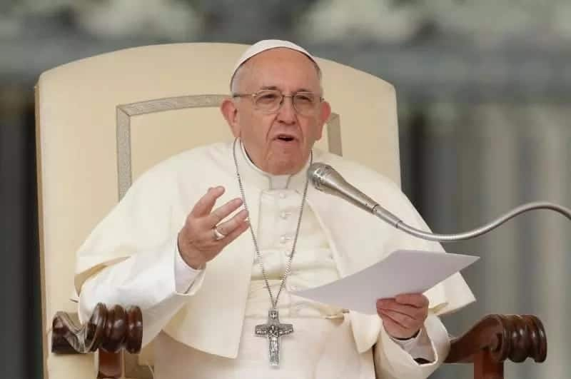 Catholic church withdraws support for death sentence, Pope says its outdated
