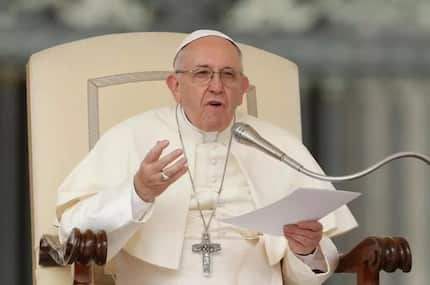 Pope Francis urges developed countries to seek simpler, less materialistic life in Christmas message