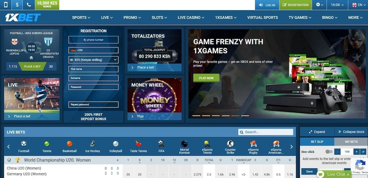 New, hot betting platform with 28 different BONUSES - 1XBET
