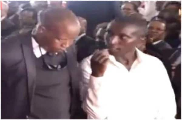 Brave man risks it all at late Matiba's memorial by breaching security to hand the President a note