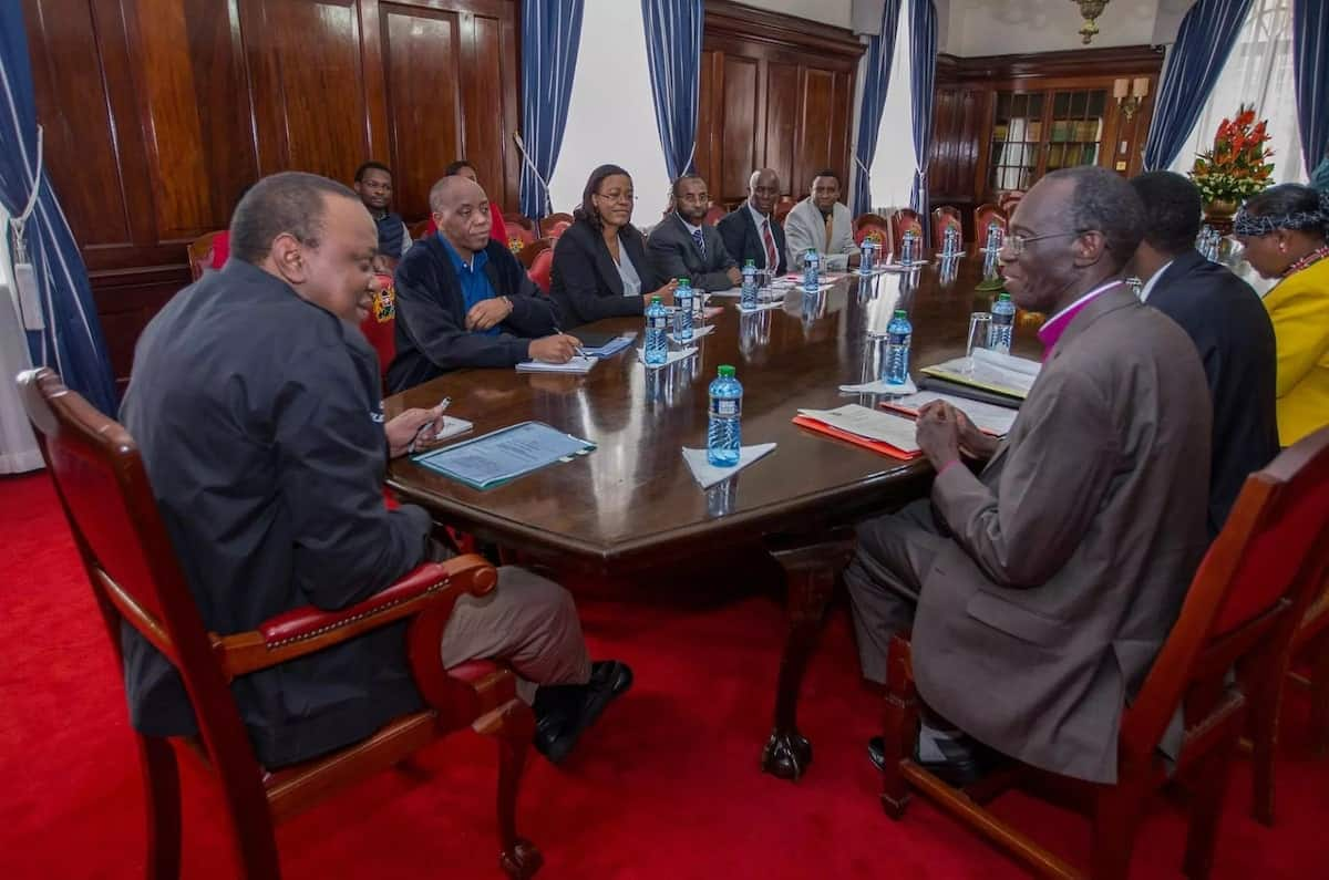 Go after the corrupt, you have my support- Uhuru to EACC