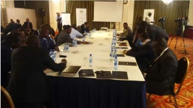 outcome of IEBC/ presidential candidates meeting