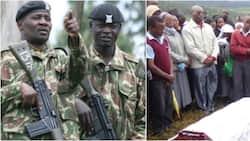Maafisa wa polisi waivamia sherehe ya mazishi katika kaunti Nandi na kutoroka na maiti