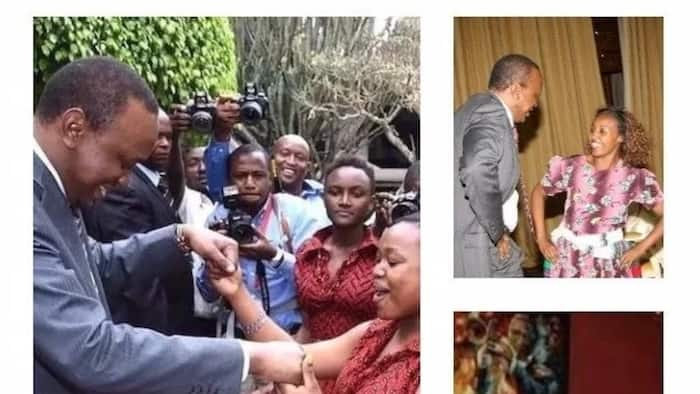 Photos of Uhuru and Raila with women; who is the ultimate ladies man? Be the judge