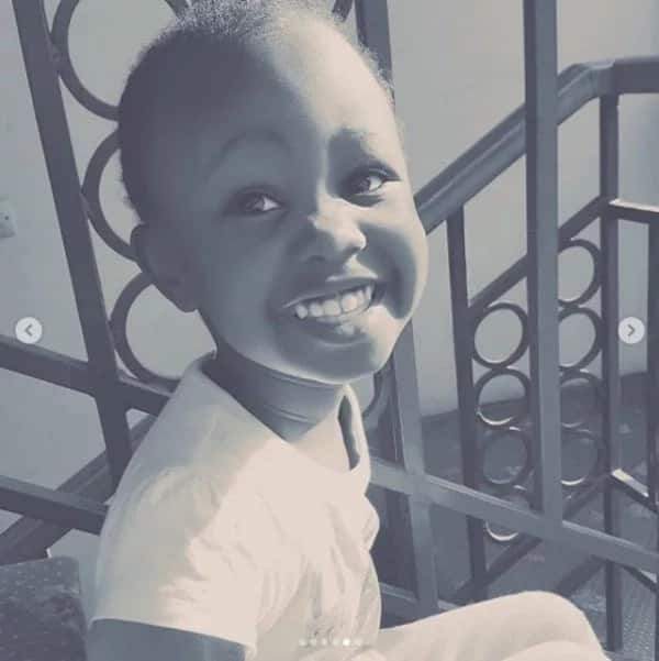 King Kaka's first baby mama shows off grown-up daughter's face and she is the rapper's carbon copy