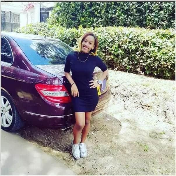Meet Mombasa slay queen who destroyed sponsor's Mercedes-Benz in rage
