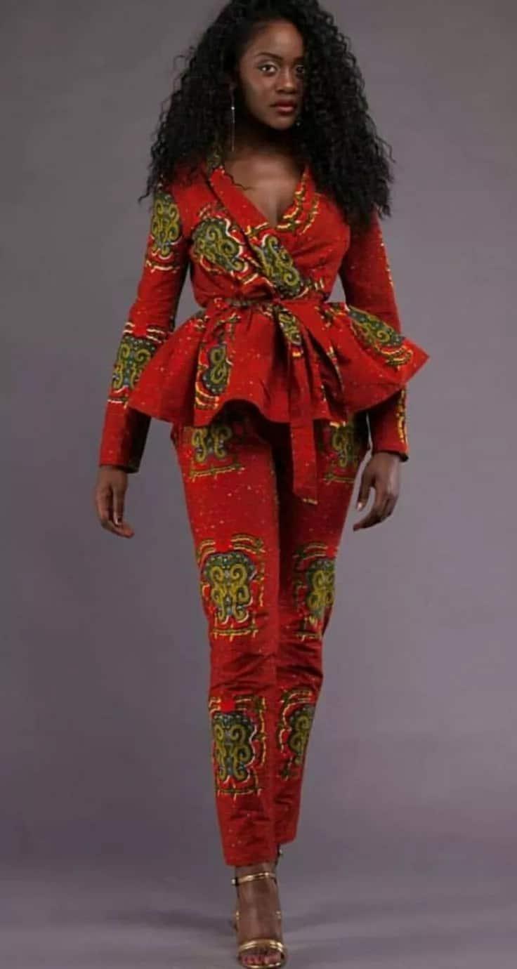 Kitenge designs for ladies