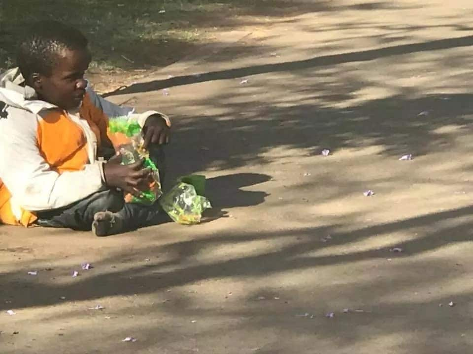 Nyeri schoolgirls charm Kenyans after giving all their food to man living with disability