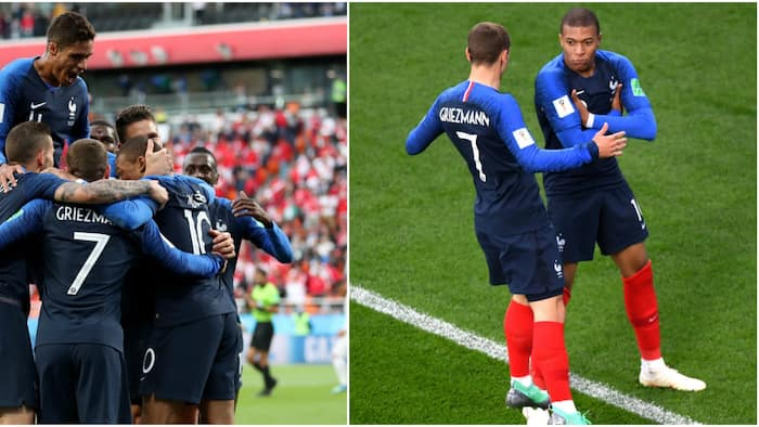 Mbappe's first half strike gives France a 1-0 win over Peru