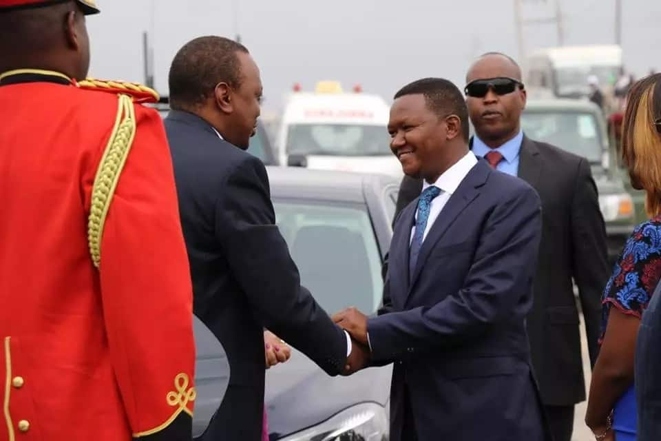 Machakos Governor Alfred Mutua demands cabinet positions from Uhuru for his support and loyalty during 2017 elections