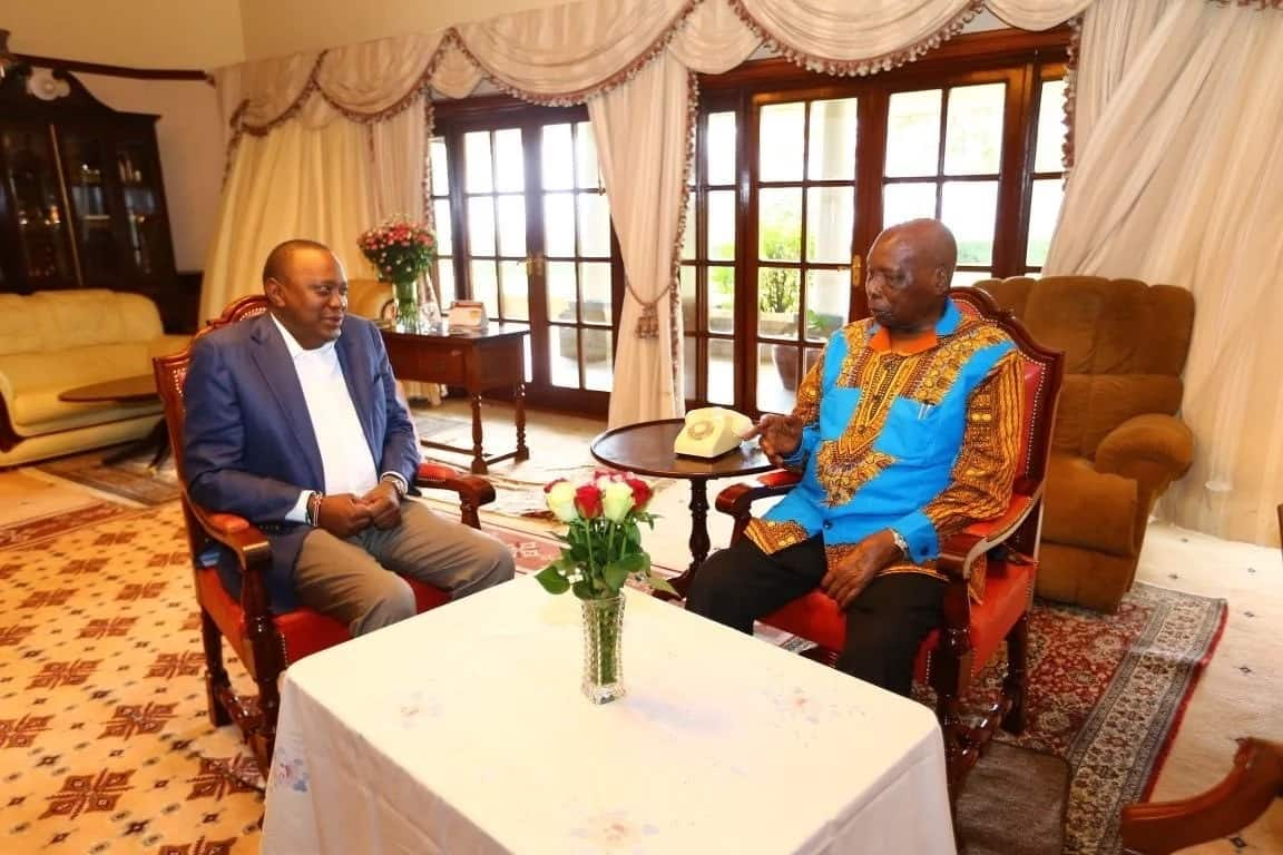 Former President Moi flown to Israel for Knee check-up