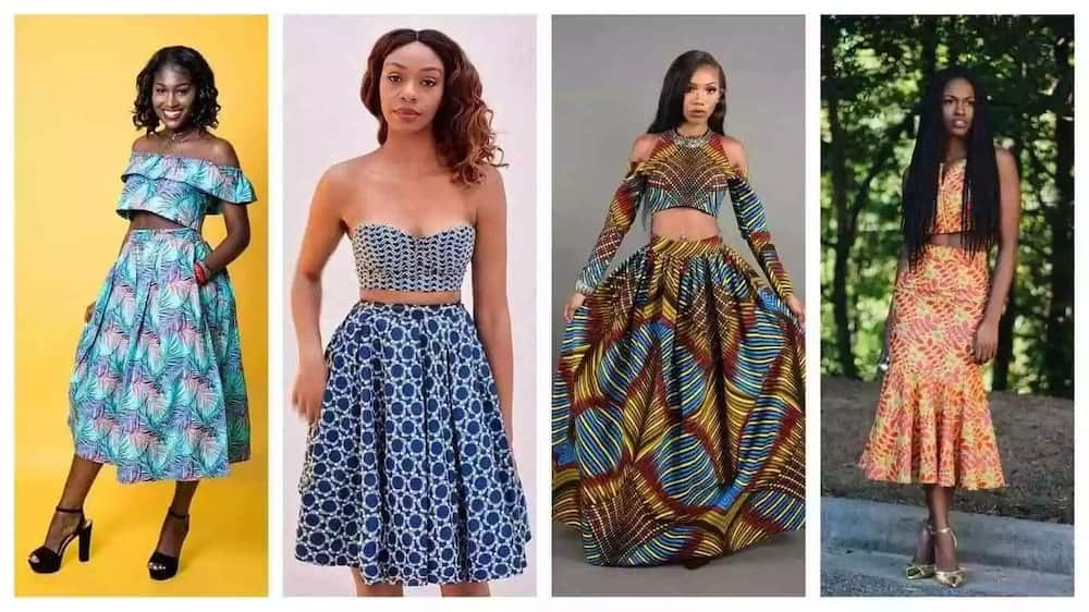 Trendy ankara styles for teenage girls