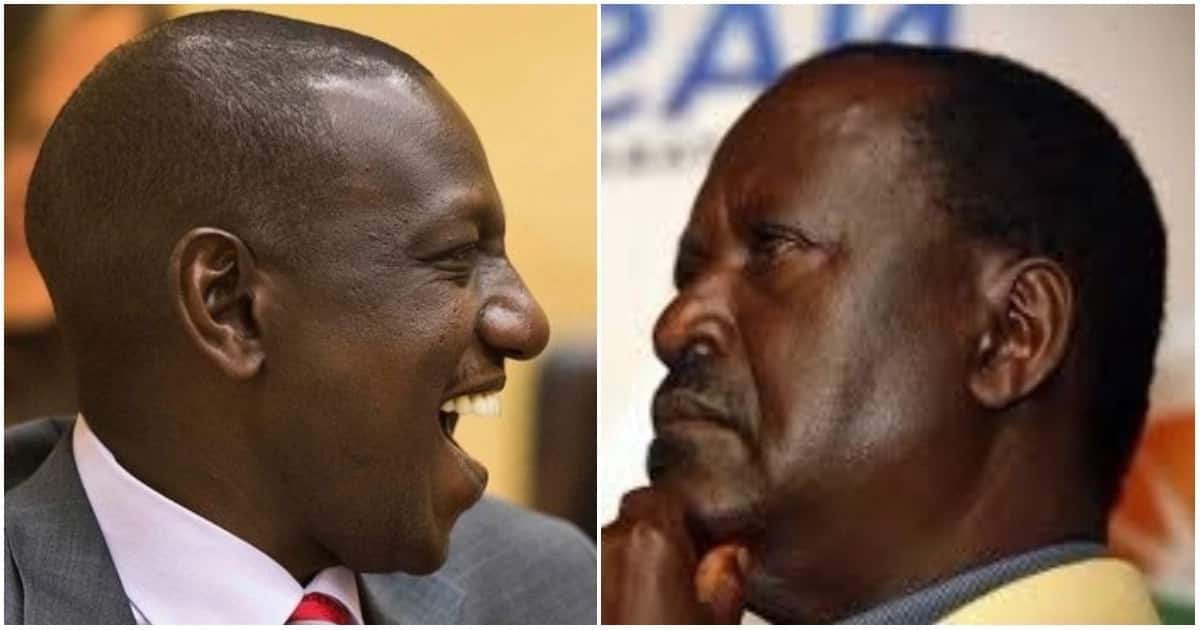 Raila Odinga proposed a three-tier system of governance. Deputy President William Ruto is opposed it.