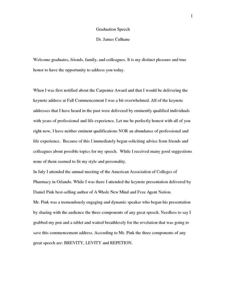 how to write a speech for graduation  writing a high school graduation speech tips to writing a good graduation speech