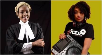 DJ wa kike, mrembo wa kuajabia aidhinishwa kuwa wakili wa mahakama kuu nchini