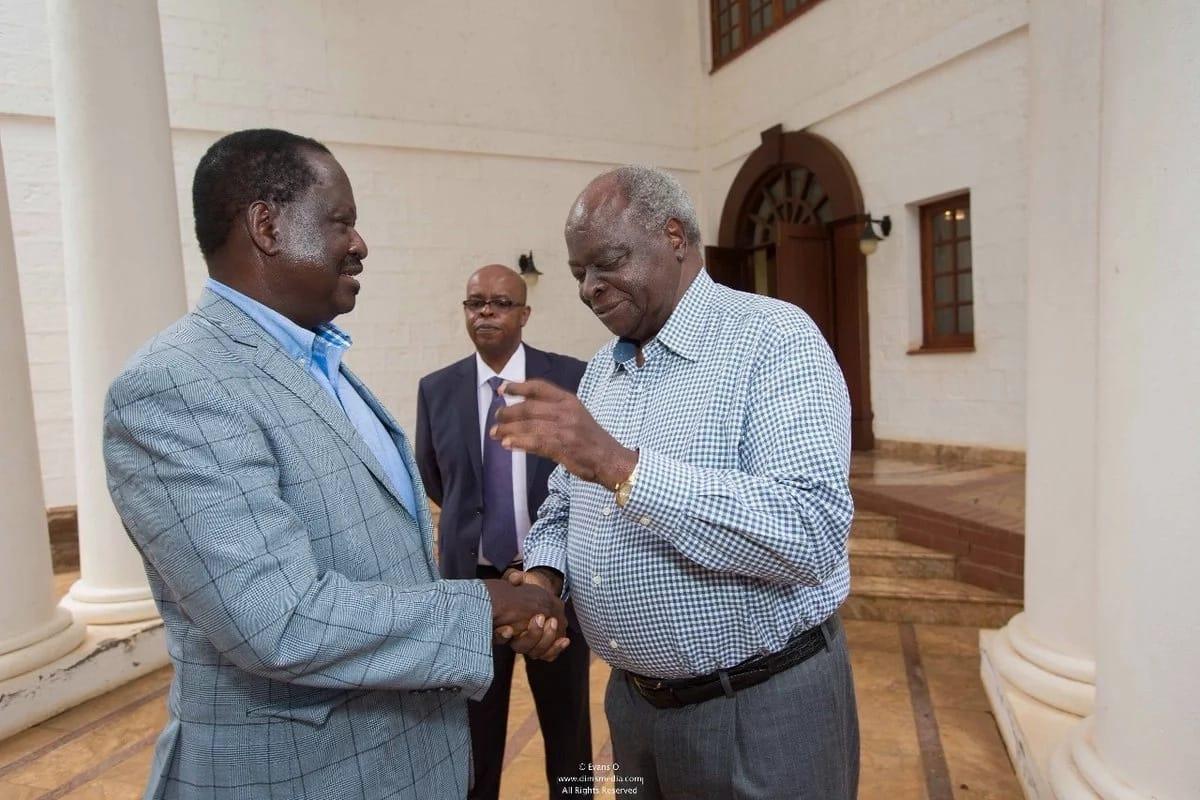 Raila explains why he met Uhuru without Kalonzo, Mudavadi and Wetangula