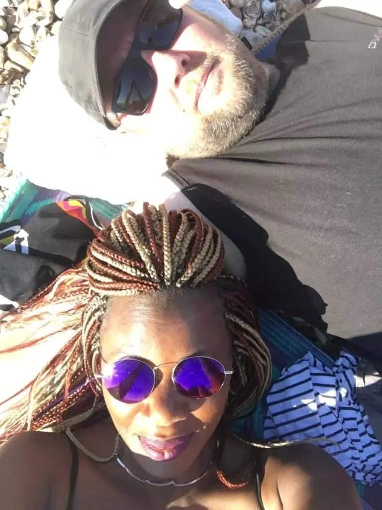 Singer Ray C on spot for snatching mzungu lover from another woman