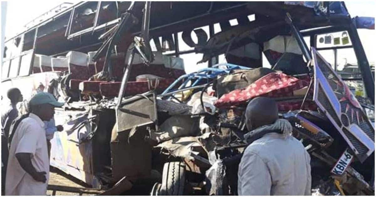 11 confirmed dead in head-on collision along Naivasha-Gilgil road