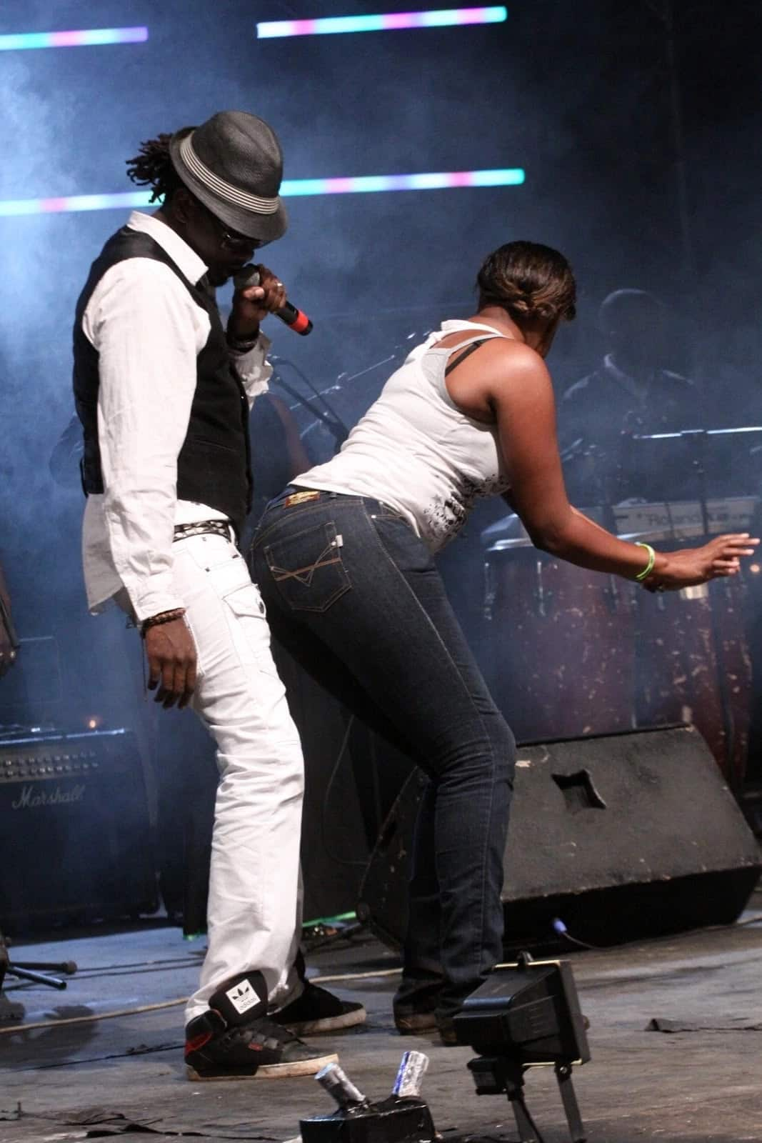 nameless and wahu fight in public