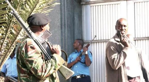 Panic as all flying squad officers in Kenya are disarmed and sent on compulsory leave