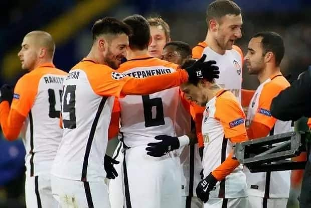 Jubilation in Ukraine as Shakhtar Donetsk hammer mighty Man City to qualify for Champions League last 16