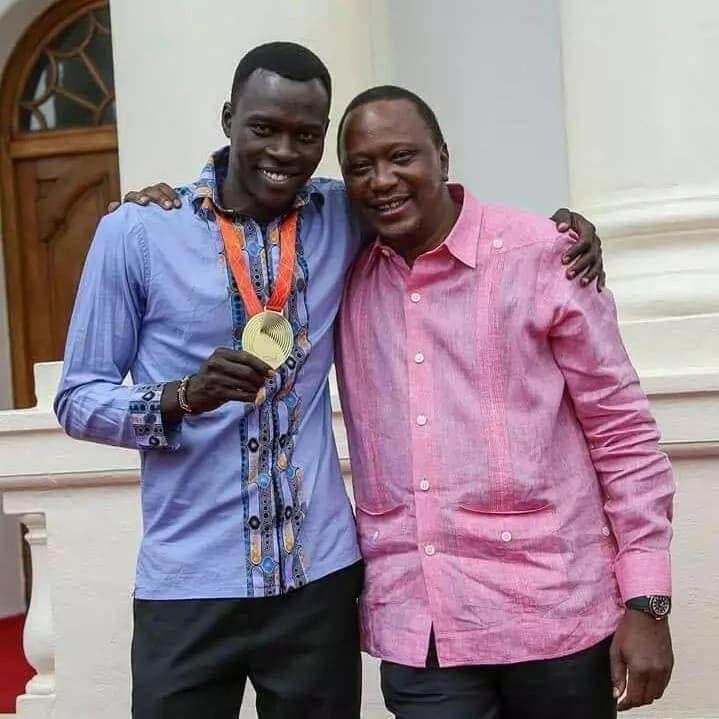 Uhuru, Ruto waomboleza kifo cha mwanariadha bingwa mbio za 400m Nicholas Bett