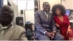 Mzazi wa Kenya ampeleka bintiye chuoni Uingireza na kuamua kuhudhuria somo pamoja naye(picha)