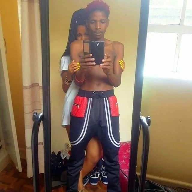 Fans call out Eric Omondi for having more clothes than his Italian girlfriend and it's super hilarious