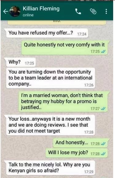 Are these the dirtiest online chats from Kenyans? Take a look