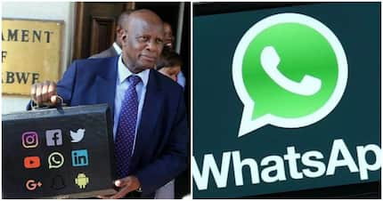 Hilarious! Zimbabwe now has a 'Minister of WhatsApp' as President Mugabe reshuffles Cabinet