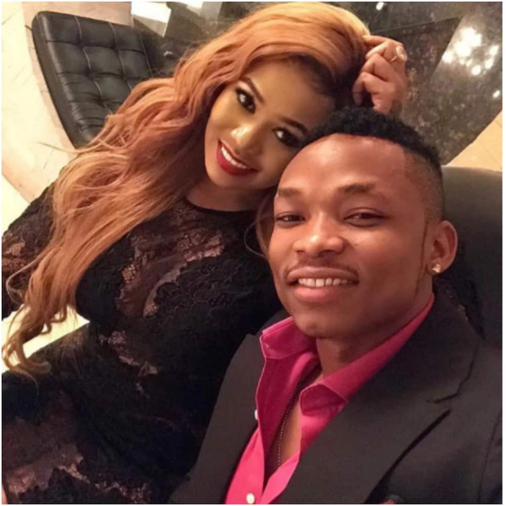 Your lady is busy 'working' in Holywood - Singer Otile Brown viciously mocked