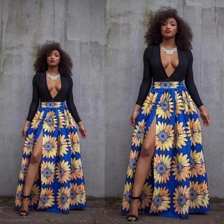 Ankara skirt designs