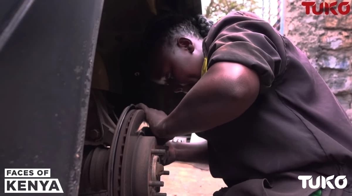 Meet Pasaka, the lady who rose from a housemaid to an engineer