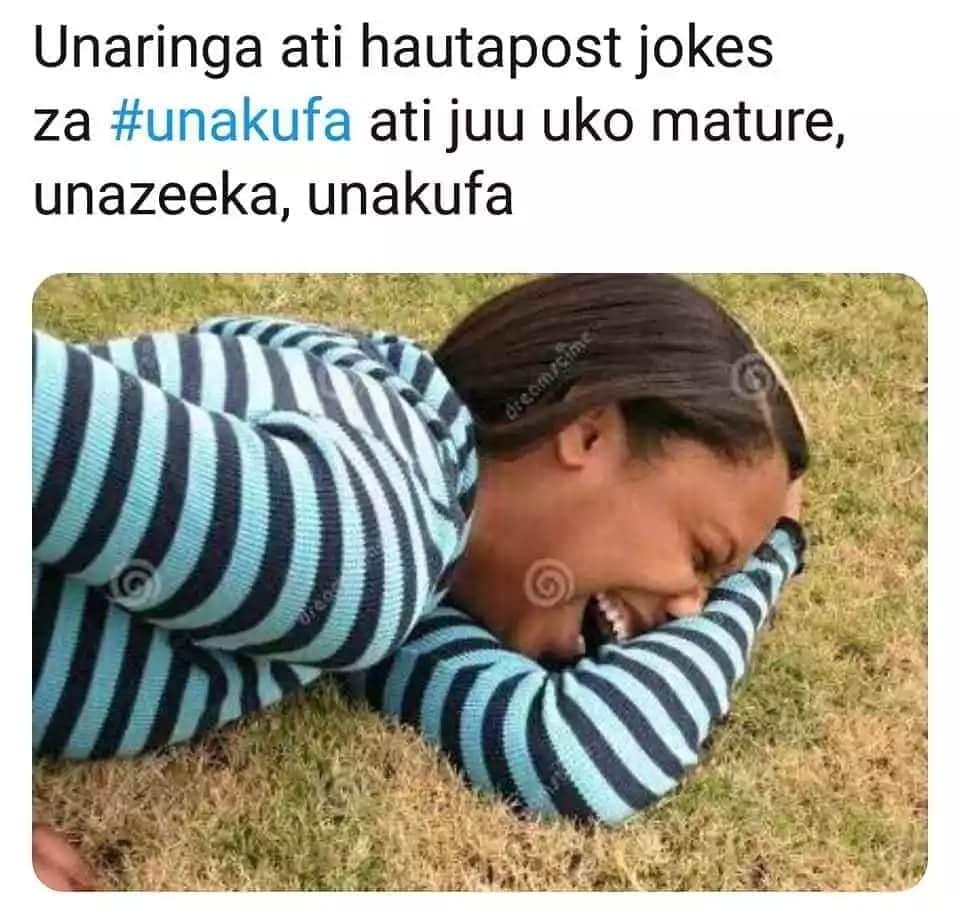 19 super hilarious memes from the #UnakufaChallenge that has got Kenyans on the floor with laughter