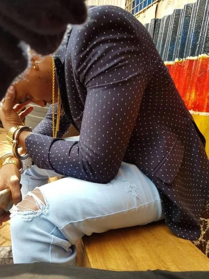 Akothee calls police on her ex-toyboy after he did this to her