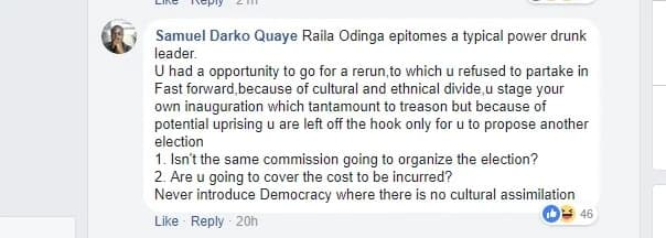 You are a joke and lucky to be in Kenya - foreigners tell off Raila after demanding fresh election