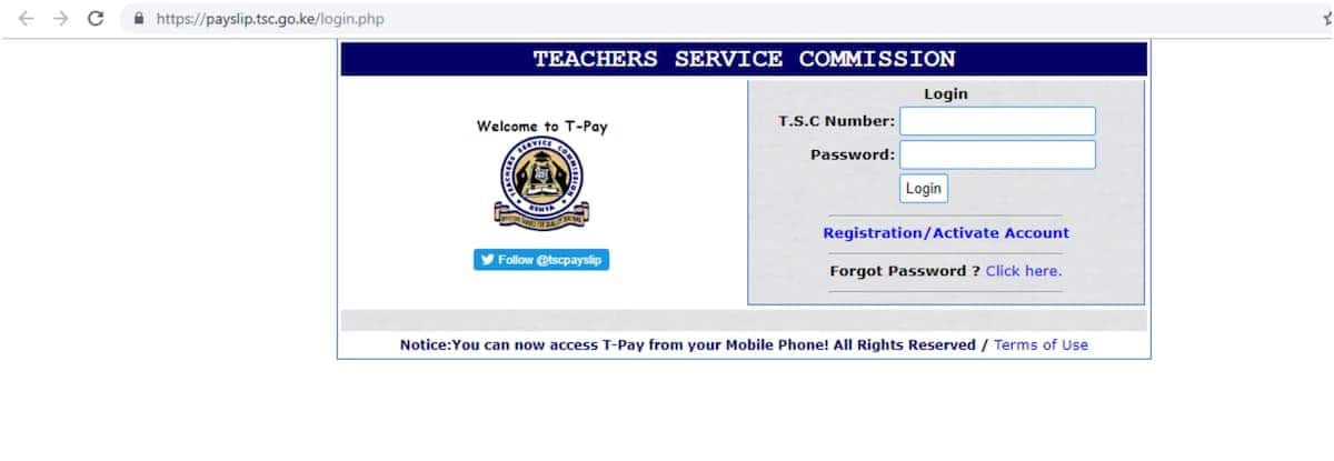 How to check your TSC online registration status TSC online system registration status TSC registration status online TSC new teacher online registration status