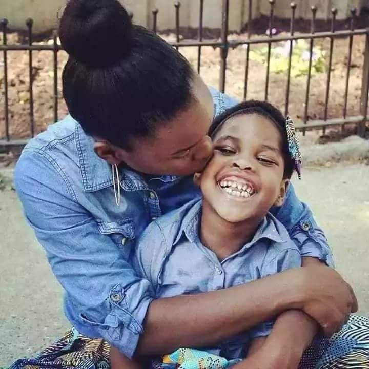 10 heartwarming photos of Kenyan mum wearing matching outfits with daughter who has cerebral palsy