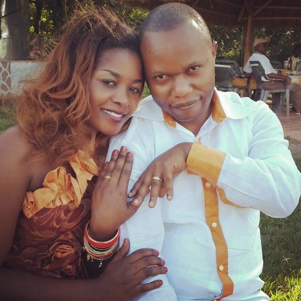 Gloria Muliro husband - Eric Omba