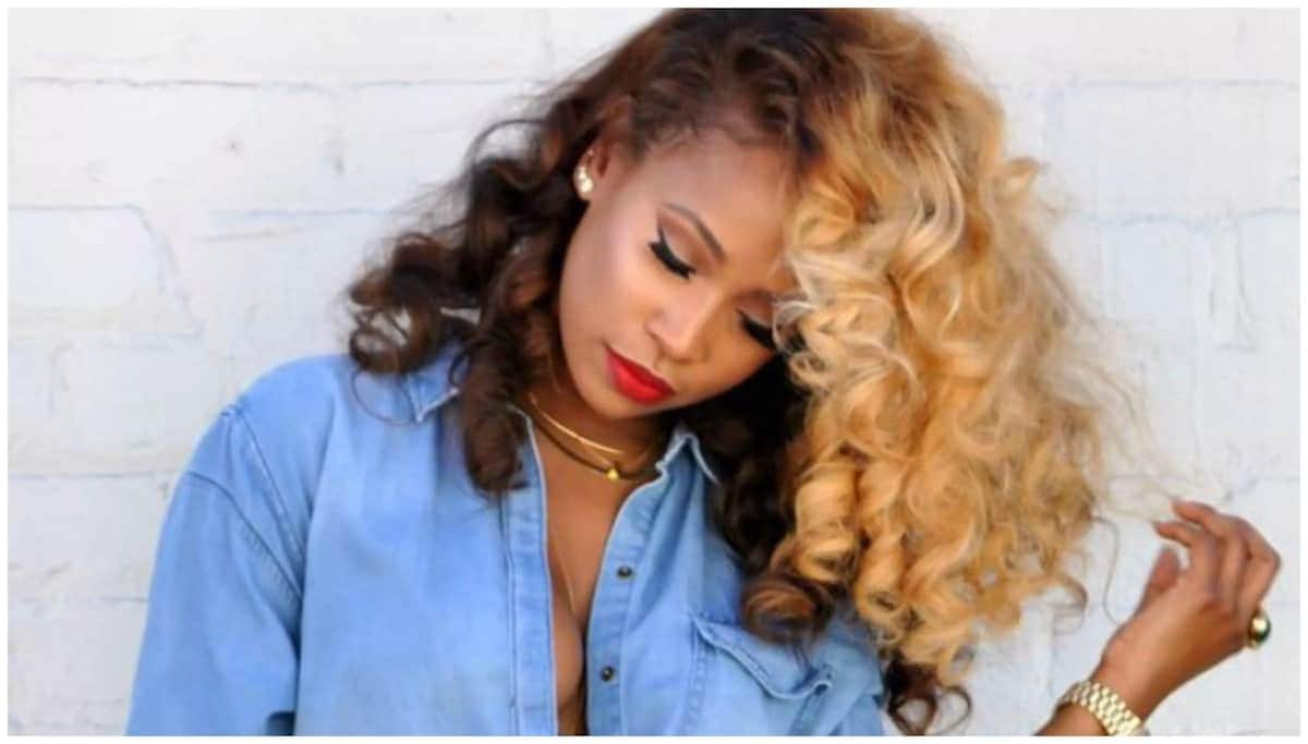 Blonde Hair On Black Women Hairstyles Tuko Co Ke