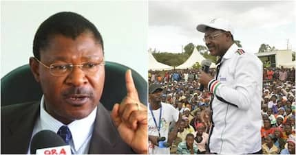 Find other things to tax but spare us the 16% VAT on fuel - Senator Moses Wetangula