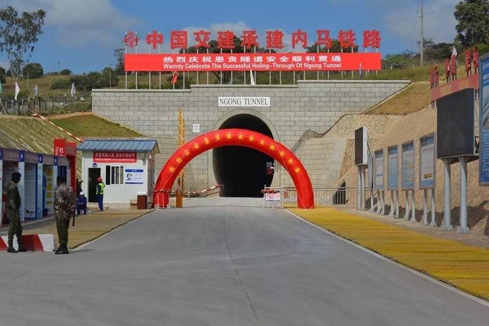 SGR contractor drills East Africa's longest railway tunnel in Ngong