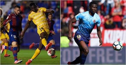 Harambee Stars striker Michael Olunga looks to join Victor Wanyama in the English Premier League